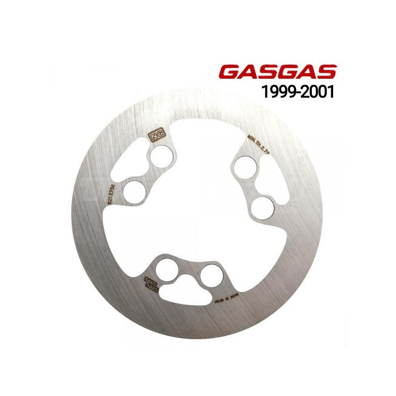 Front brake disc GasGas Contact and...