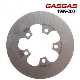 Disco de freno trasero Gas Gas Contact y Edition 1999 a 2001