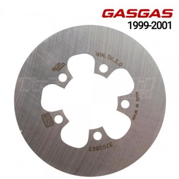 Disco de freno trasero Gas Gas Contact y Edition 1999 a 2001
