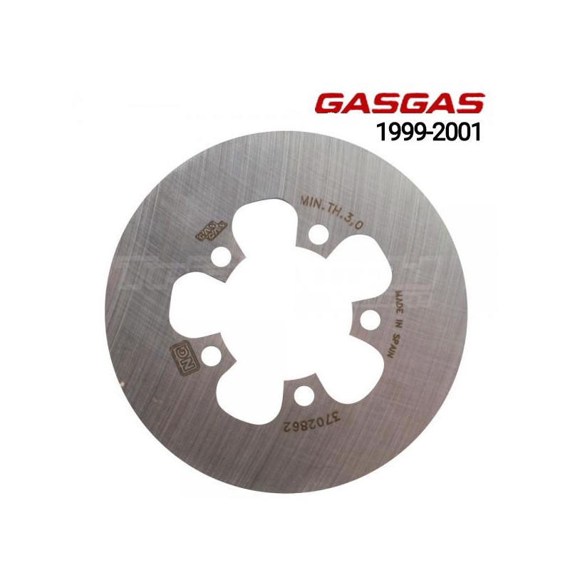 Rear brake disc GasGas Contact and Edition 99 - 2001