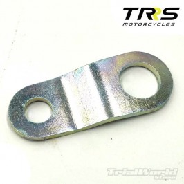 Exhaust bracket to TRRS chassis