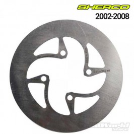 Sherco Trial rear brake disc 2002 to 2008