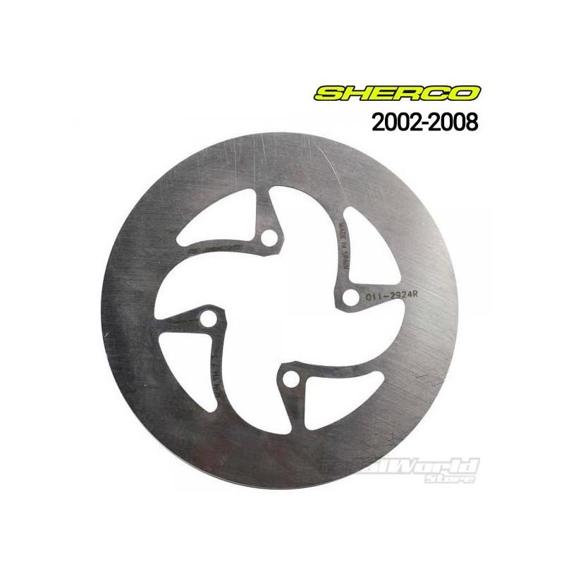Sherco Trial rear brake disc 2002 to 2008