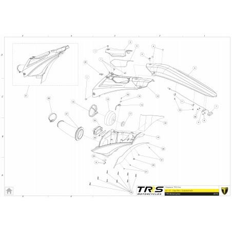 Conducto caja del filtro TRRS