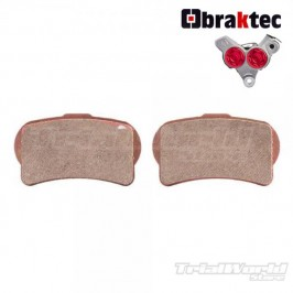 GALFER front brake pads Braktec trial bike