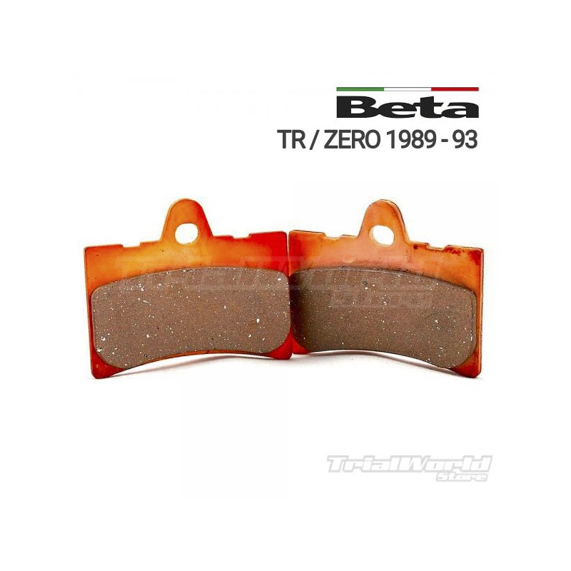 Pastillas de freno delantero GALFER Beta Zero y TR