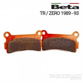 GALFER Beta TR and Zero rear brake pads