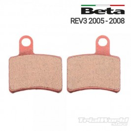Rear brake pads GALFER Beta REV 3