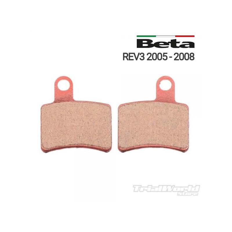 Rear brake pads GALFER Beta REV 3