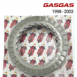 Clutch discs kit Surflex Gas Gas Contact 1998 to 2003