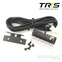 TRRS rear mudguard led light assembly