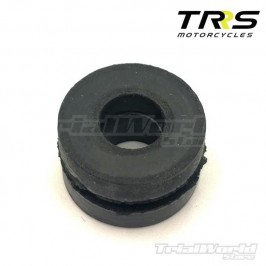 Exhaust and radiator silencer block for TRRS