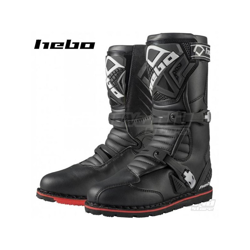 Boots Hebo Technical 2.0 Leather Black
