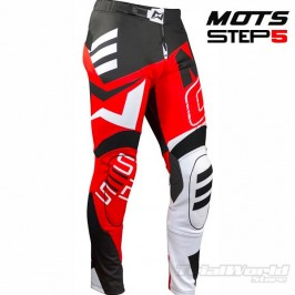 Pantalon de Trial MOTS Step5 rojo