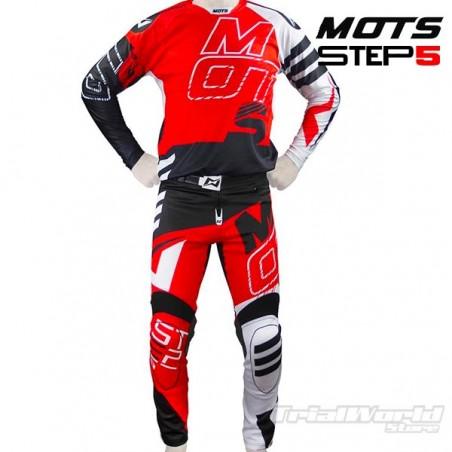 Pantalon de Trial MOTS Step5 rojo