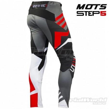 Pantalon de Trial MOTS Step5 Negro