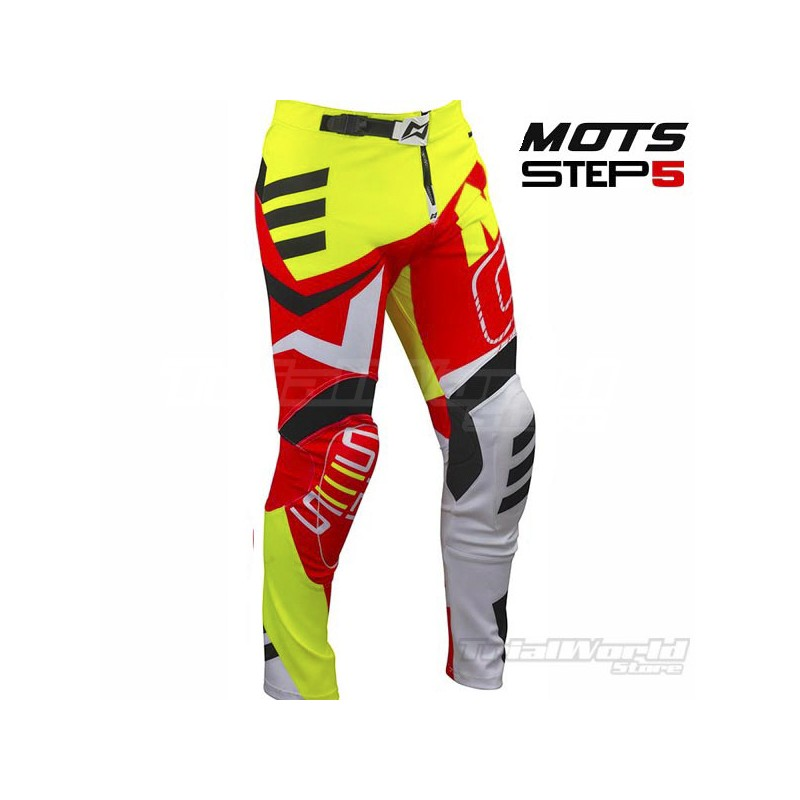Pant Mots STEP 5 Red and Yellow Trial