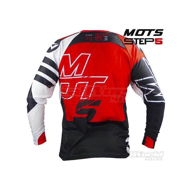 Camiseta Trial MOTS Step5 rojo