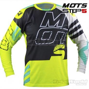 Camiseta Trial MOTS Step5 flúor