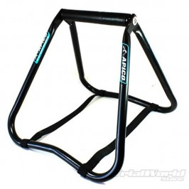 Trial bike folding stand