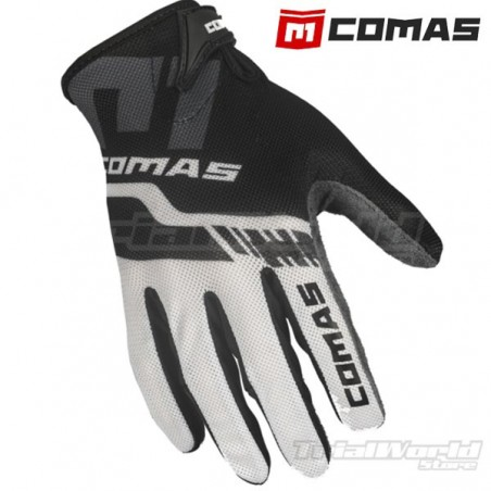 Gloves Comas Trial White