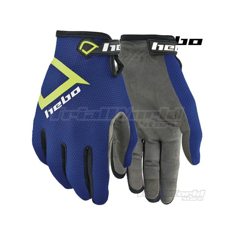 Gloves Hebo Nano Pro III Blue Trial
