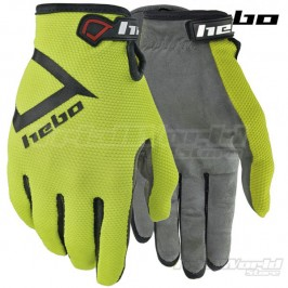 Gloves Hebo Nano Pro III Yellow Trial