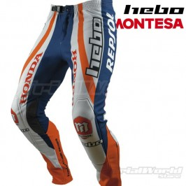 Pantalon Trial Hebo Montesa Repsol Team