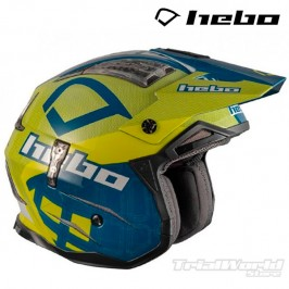Casco Hebo Zone 4 Patrick Blue Yellow