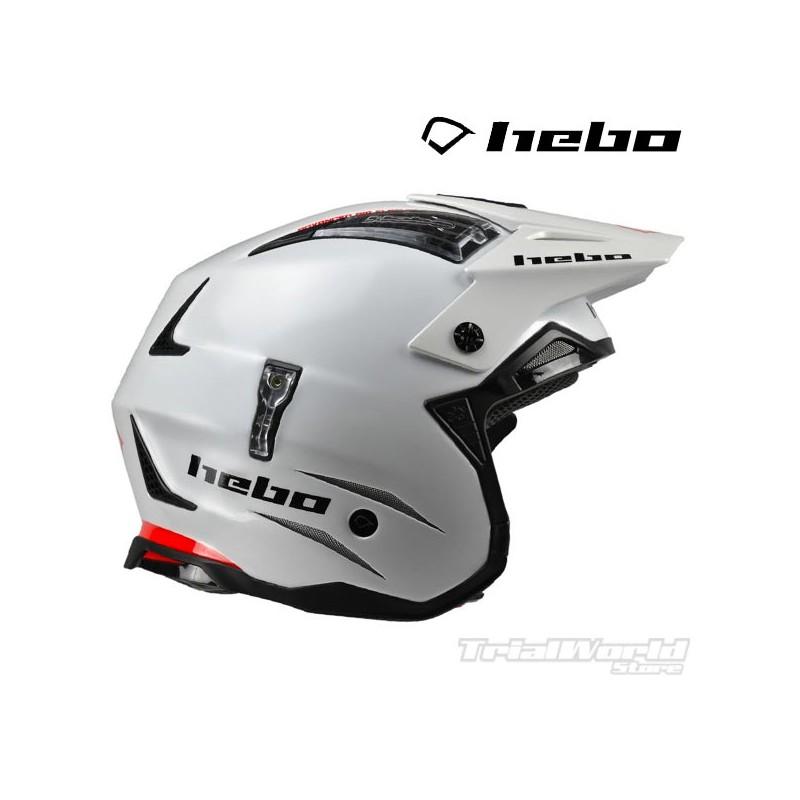 Helmet Hebo Zone4 Monocolour White