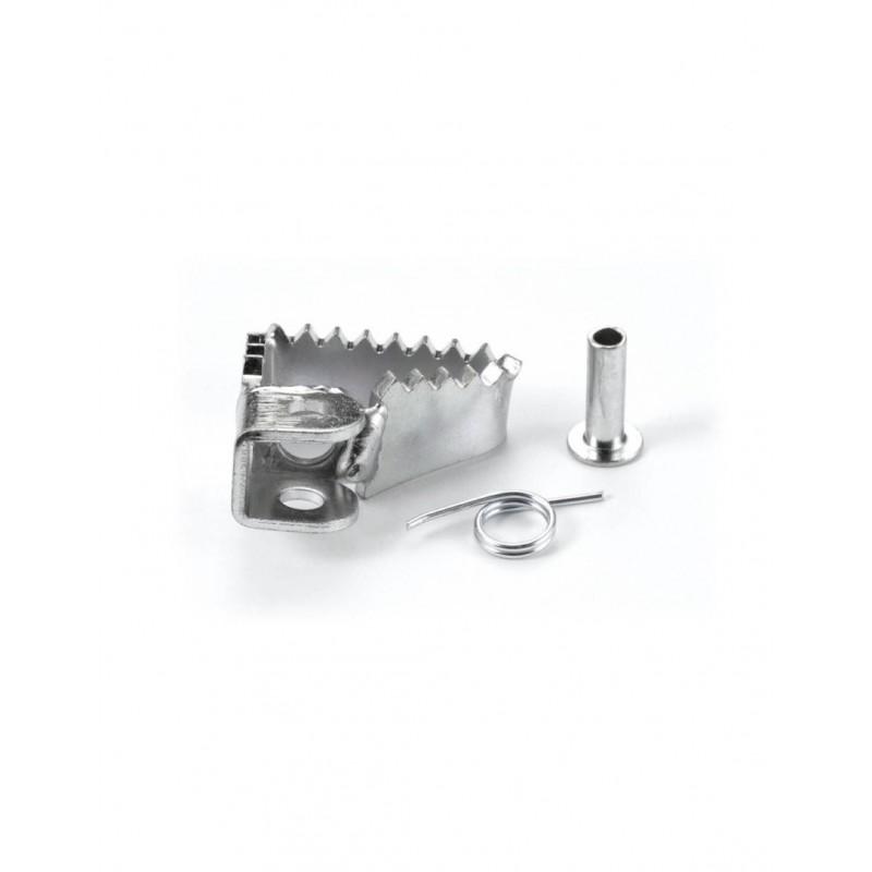 Large rear brake pedal tip