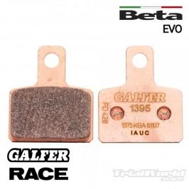 Pastillas de freno trasero GALFER sintetizadas Beta Evo