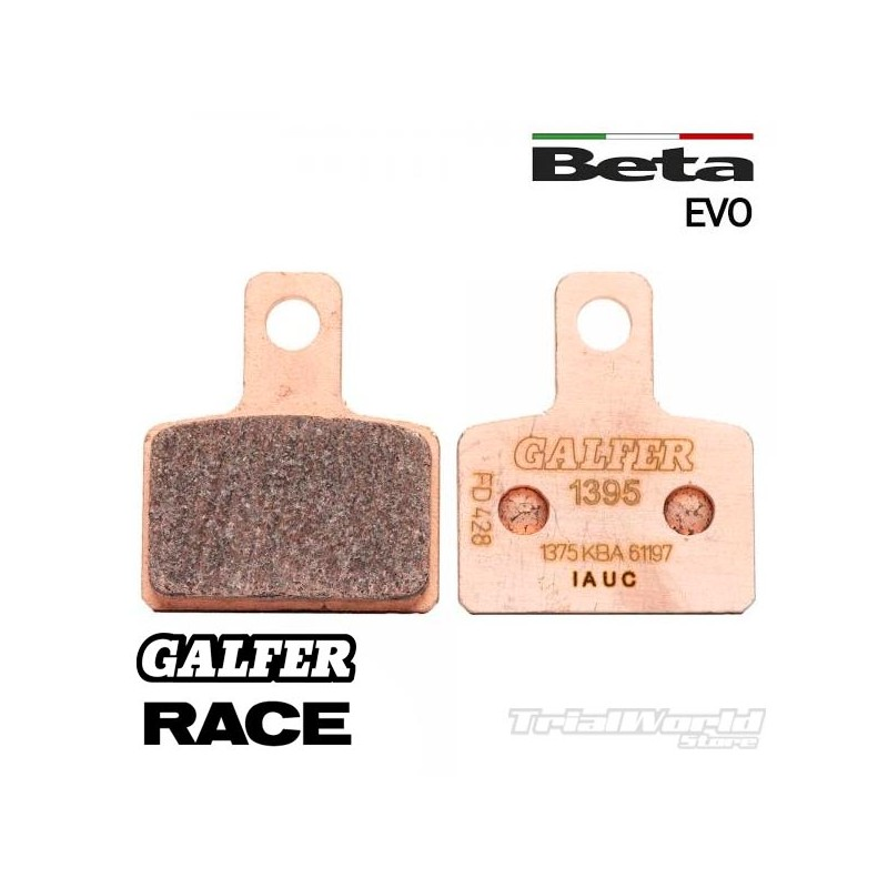 GALFER Beta Evo sintered rear brake pads