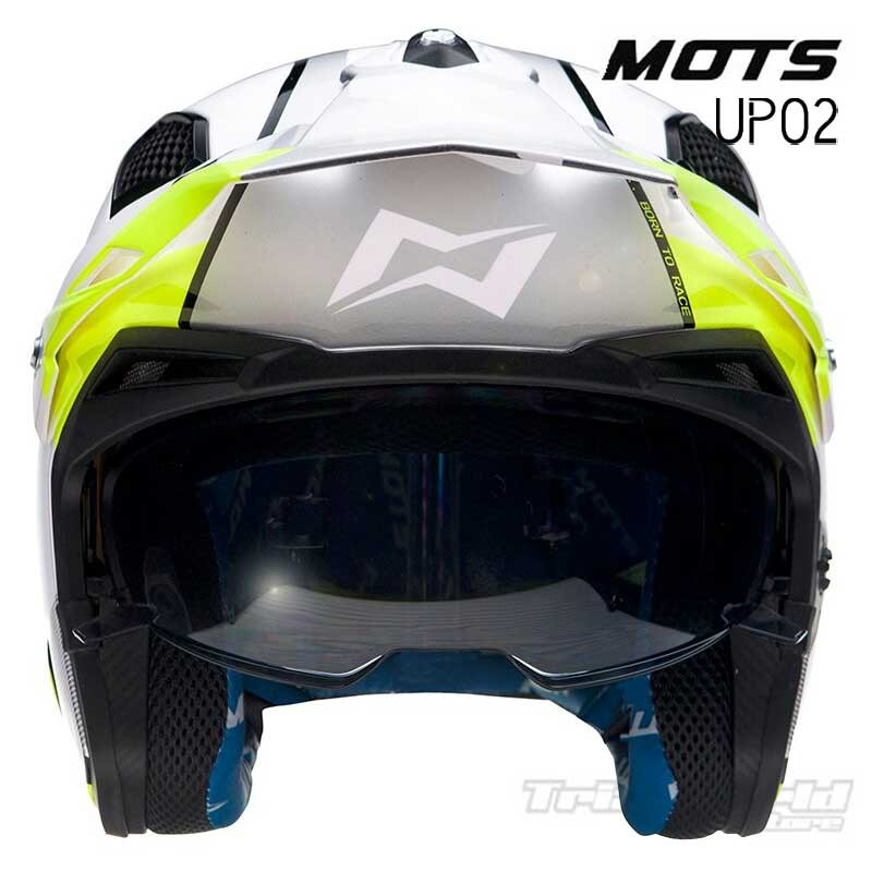 Helmet MOTS Jump UP02 Yellow