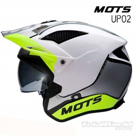 Casco de Trial MOTS Jump UP02 Amarillo