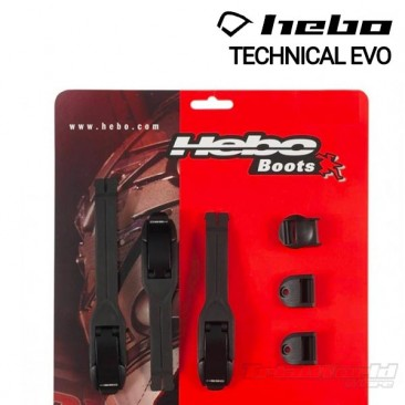 Pack cierres Botas Hebo Technical EVO