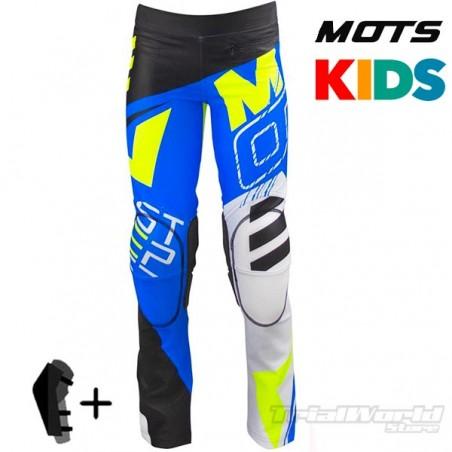 Pantalón MOTS Rider3 Junior azul Trial