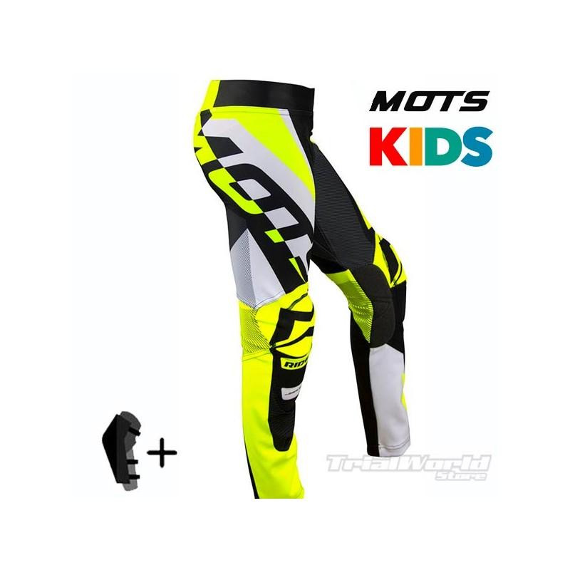 Pantalón MOTS Rider3 Junior amarillo Trial