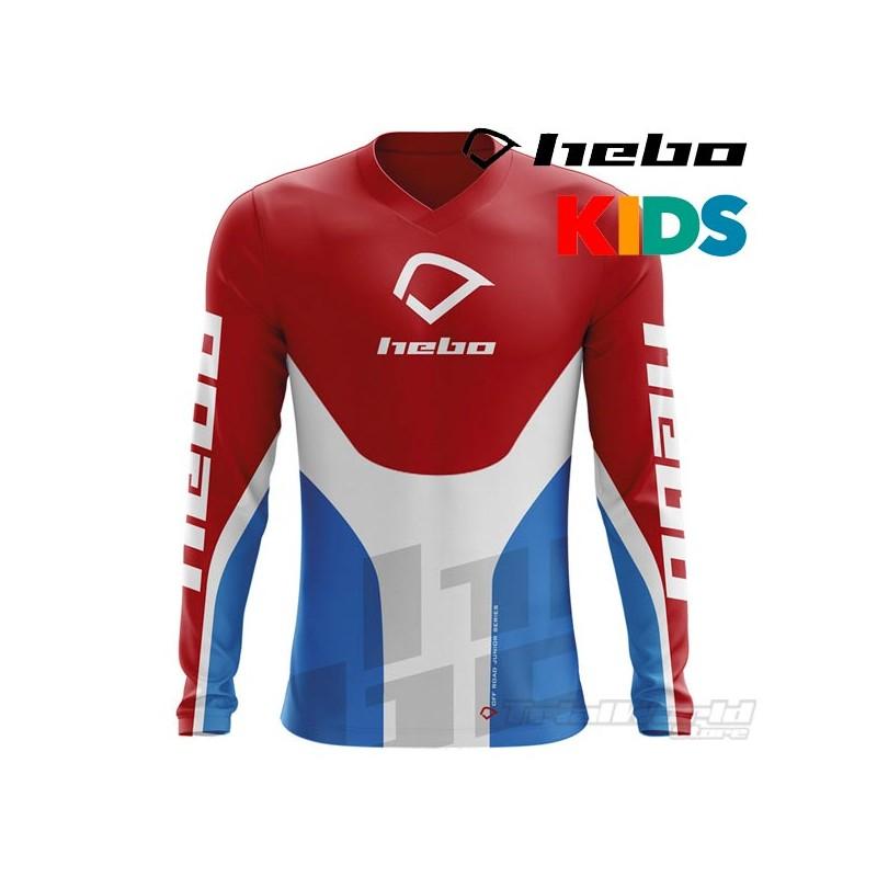 Camiseta trial infantil Hebo Pro 20