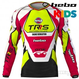 Jersey Hebo TRS Motorcycles Kids Trial