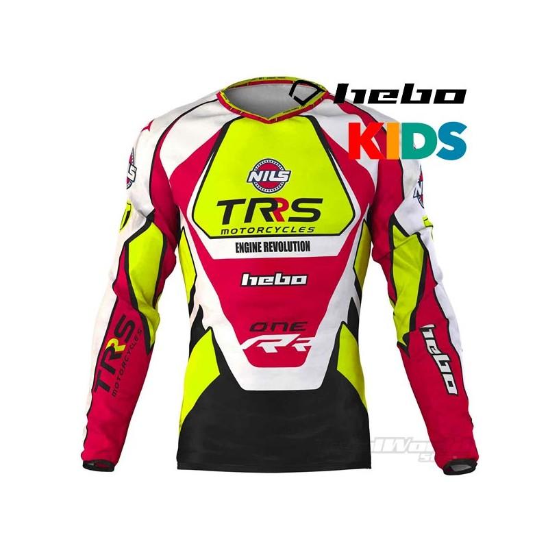Jersey Hebo TRS Motorcycles Kids Trial