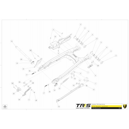 TRRS One and RR chain tensioner bushing