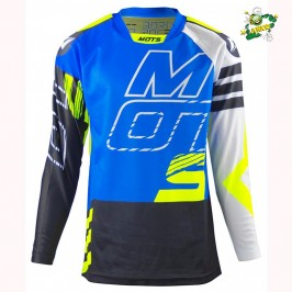 Jersey Mots STEP5 Junior Trial blue