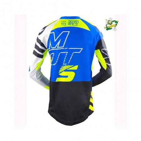 Camiseta MOTS Junior azul Trial