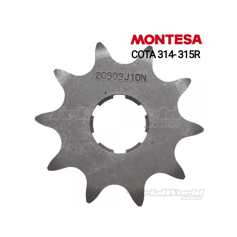 Drive sprocket for Montesa Cota 315R and 314R