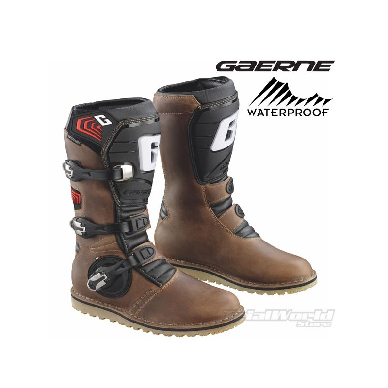 Boots Gaerne Balance Oiled Brown Trial