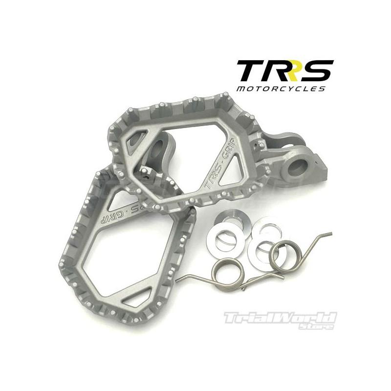 TRRS universal footrests aluminium microfusion