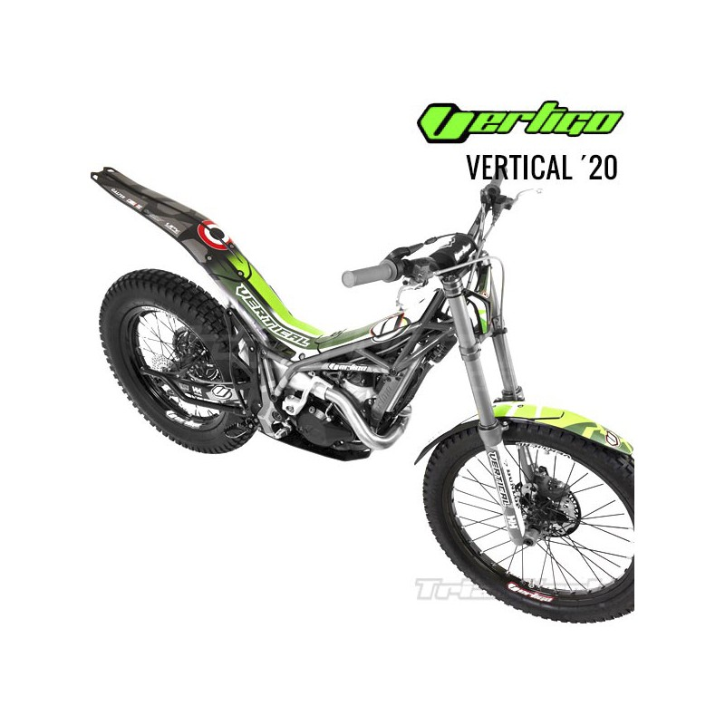 Vertigo Vertical Works 2020 Decoration Sticker Kit