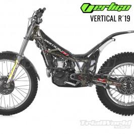 Vertigo Vertical R 2019 protection sticker kit