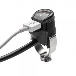 USB charger for trial and enduro bikes